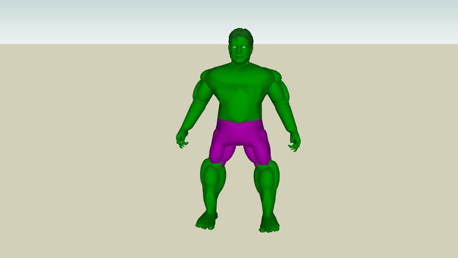 3D People - Hulk