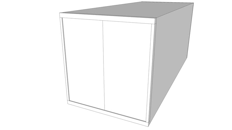 Container, 20'/40', standard/high cube