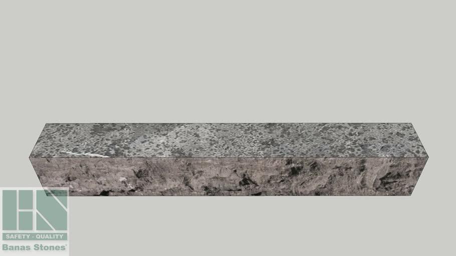 Banas® Stones Natural Kerbs/Step Fillers - Silver Grey