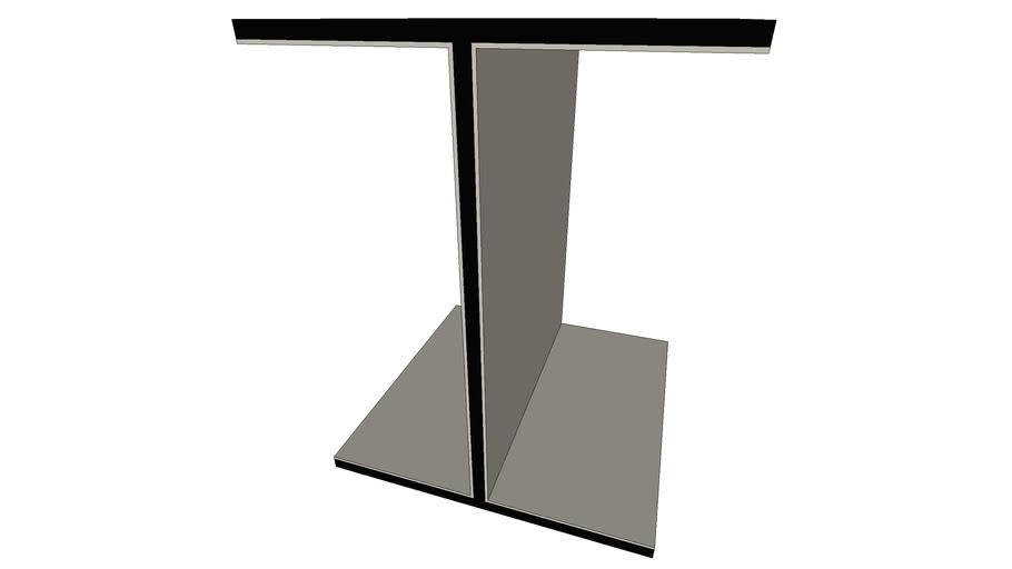 I-Beam Like Side Table