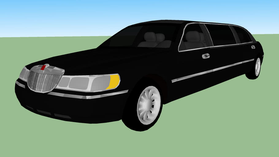 1999 Lincoln Town Car Stretch Limousine