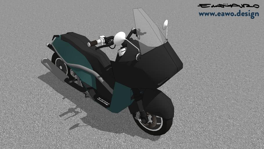 Harley Davidson Coronada B concept