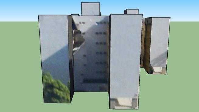 Building in Brasília - Brazilian Federal District, Brazil