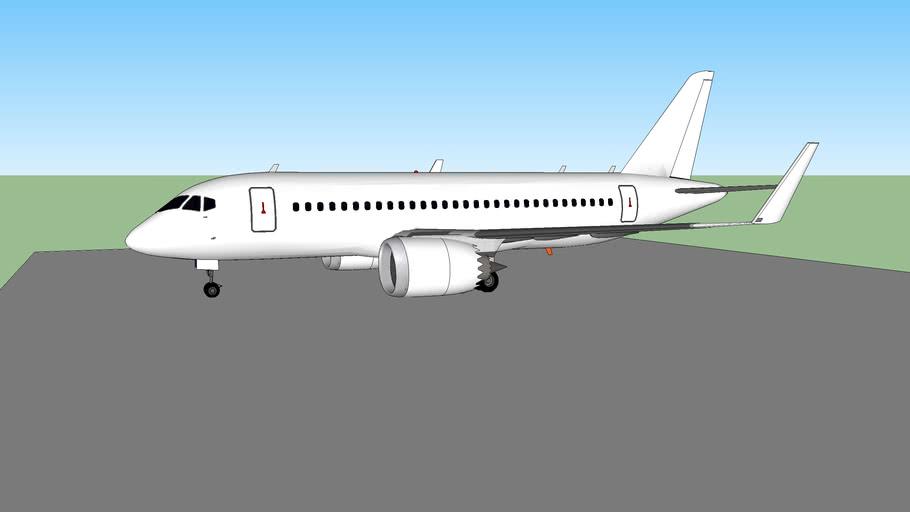 Nabhan Ghanni Aeronautical Sukhoi SJ100-113MAS