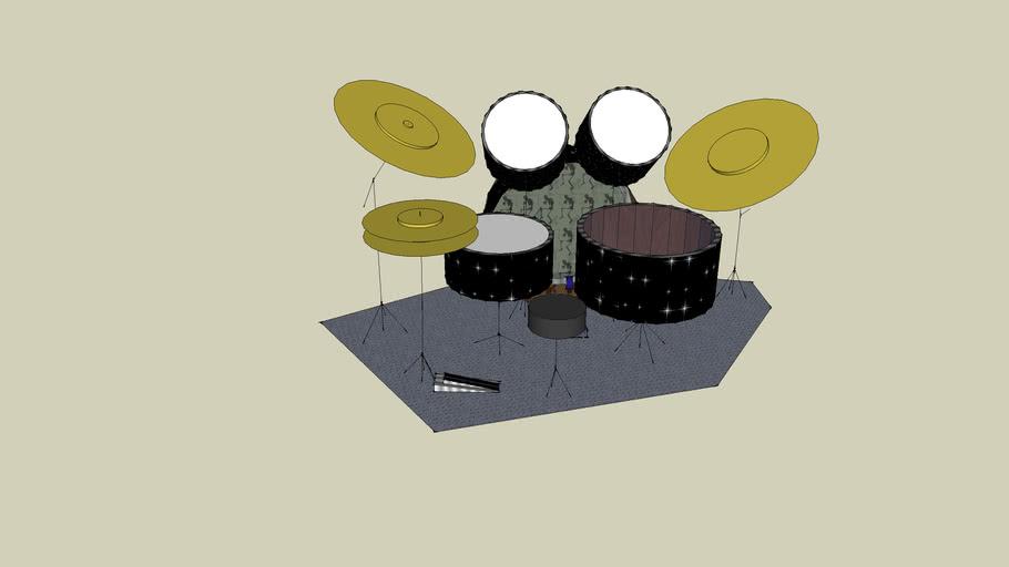 Starlit Skull Drum