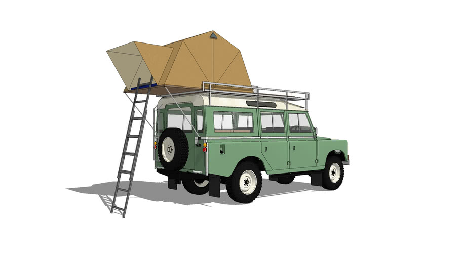 Land Rover Series 3 109inch Overland Rooftent