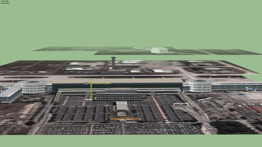 Aeropuerto Internacional Comodoro Arturo Merino Benítez, Santiago, Chile