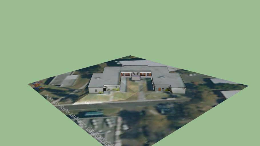 Bâtiment L, campus Sud, Le Tampon, Réunion