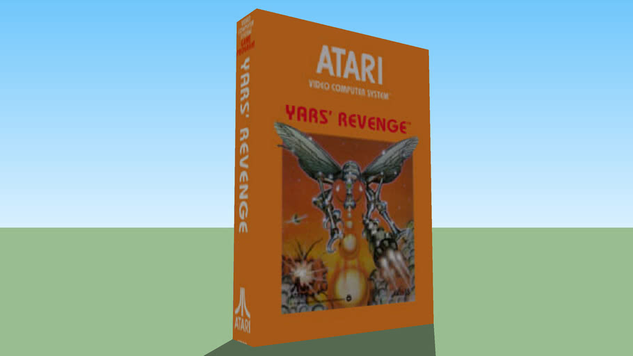 Atari 2600 - Yars' Revenge - Boxed Game - NTSC Version
