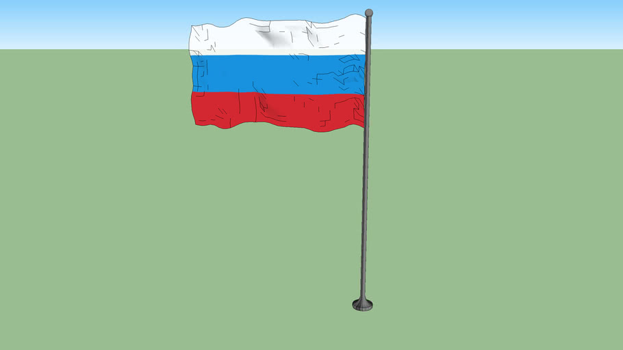 Flag of Russia (1991-1993)