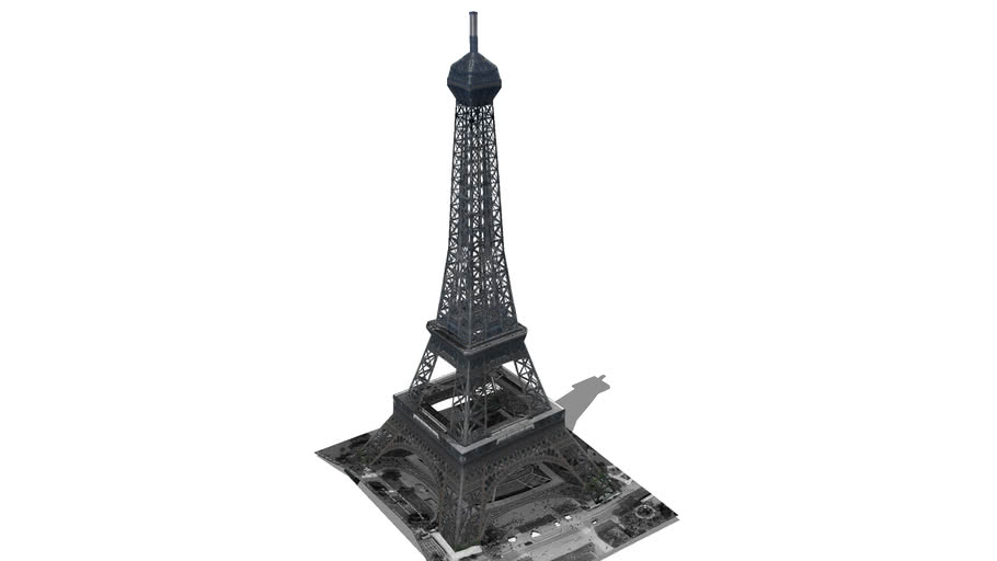 Model of the Eiffel Tower