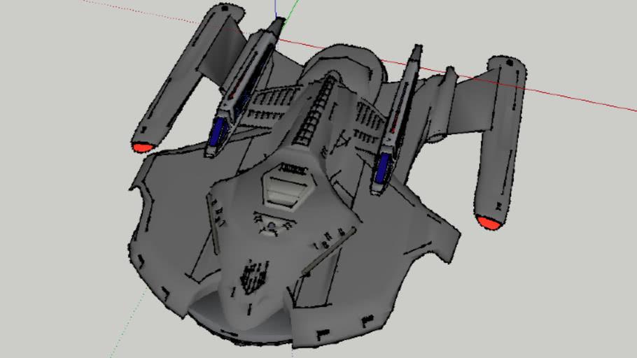SpaceShip for Alexander Racini Junior 3D UFOs Contest