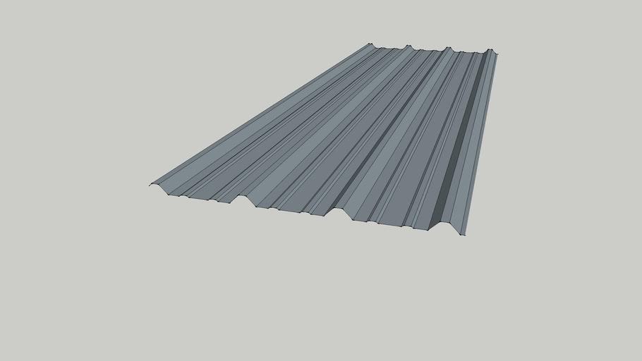 Pbr Metal Sheeting Panel 3d Warehouse