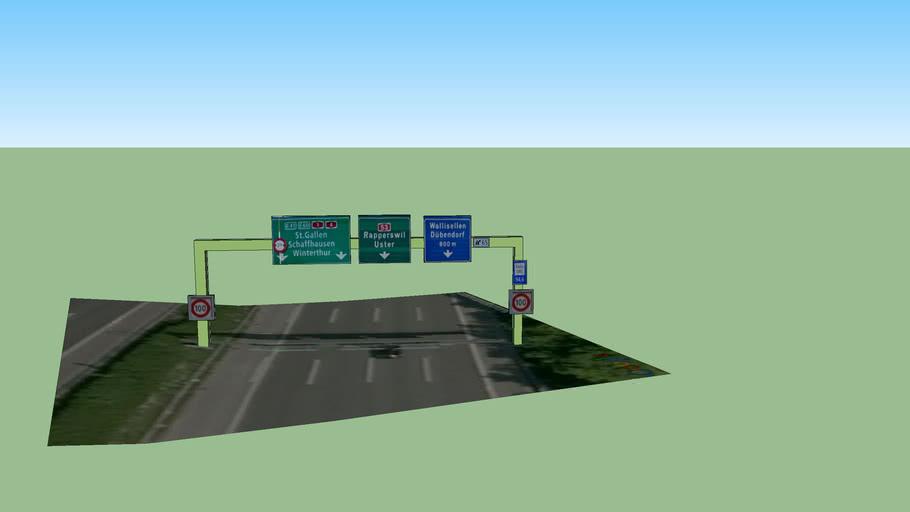 Autobahn Tafel