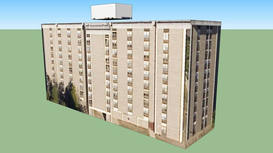 Building in 1, Charlotte, North Carolina, USA
