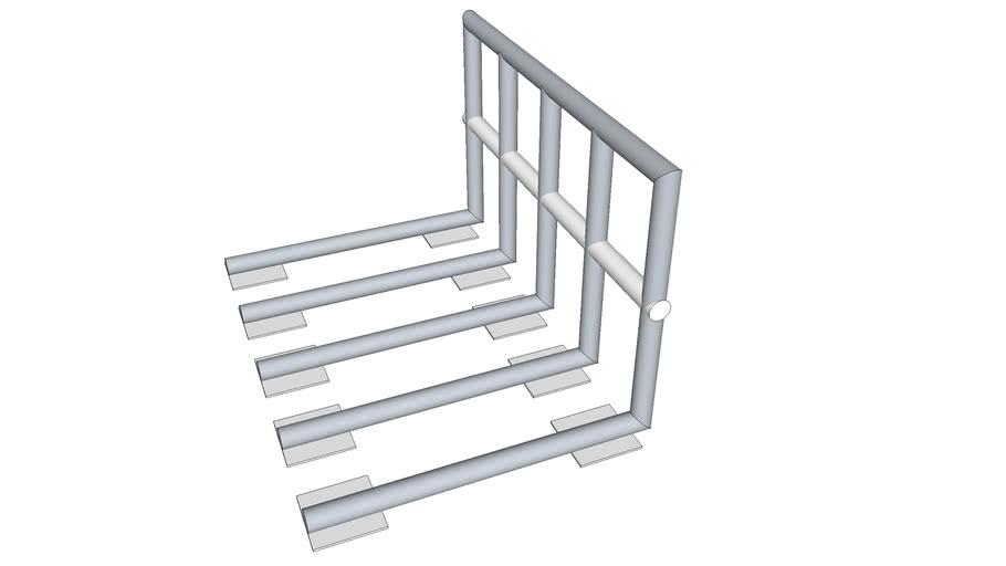 safty railings for flat roof