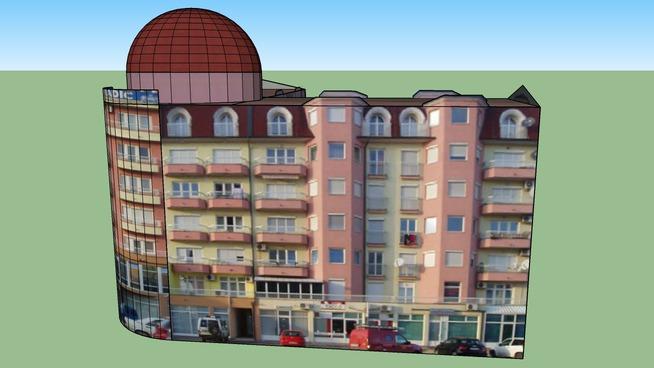 Residential buildings - popularly called MB Radic block