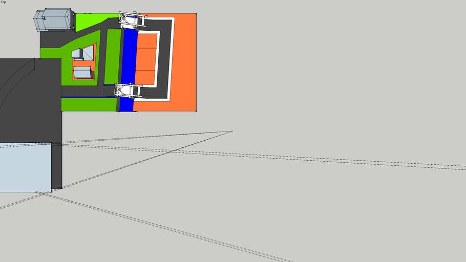 modeltafel + ingevoegde brug verder uitgewerkt