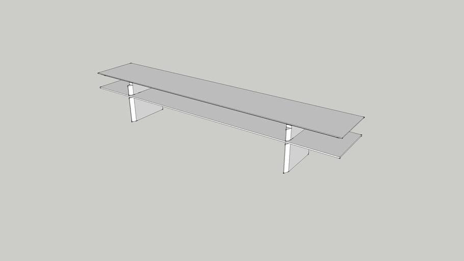 Voler -Sofá table mezanina