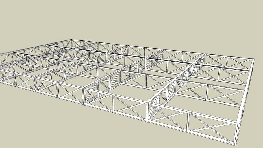 steel truss 18*30m