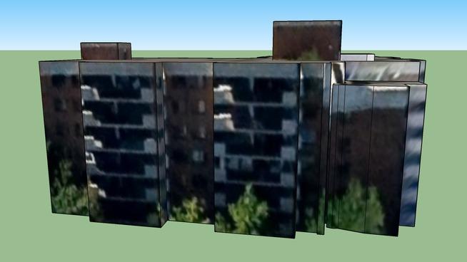 Edificio en Ottawa, Ontario, Canadá