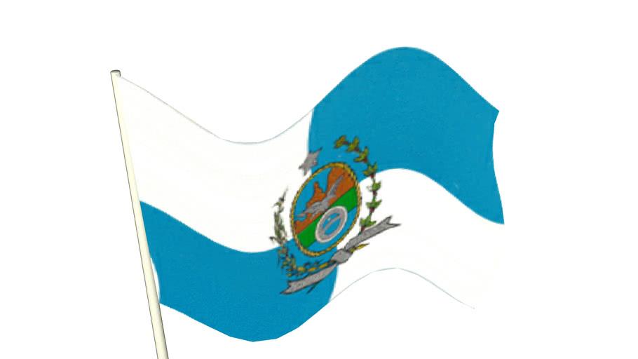 Bandeira Estado Rio de Janeiro - flag RJ