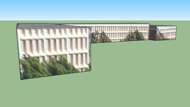圣马特奥, CA, USA的建筑模型