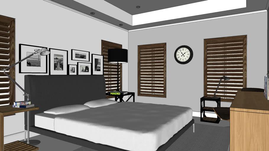Industrial Ish Bedroom 3d Warehouse
