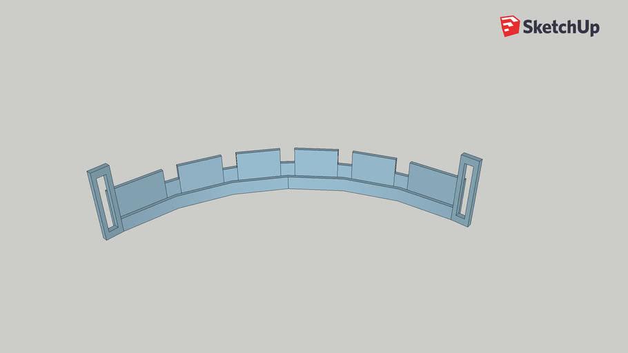 Upper Lower rail