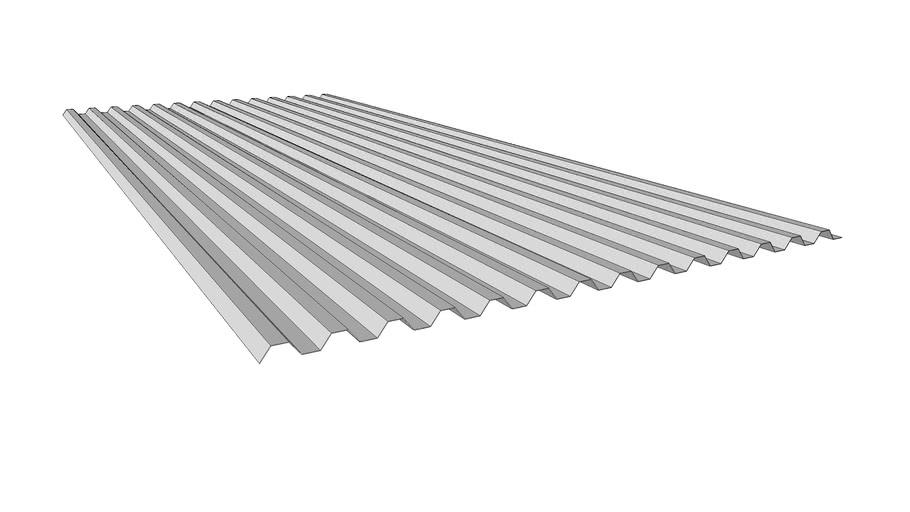 Trapezplade (Plastmo JumboLite)