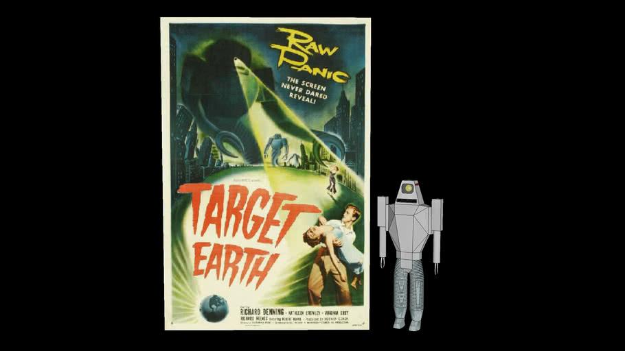 "Alien Robot from ""Target Earth"" (1954)"