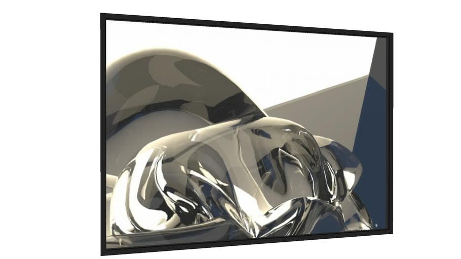 Quadro Abstrato 204818 - Galeria9, por Paulo Ide