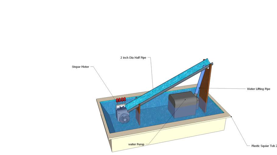 Water Flow Generator