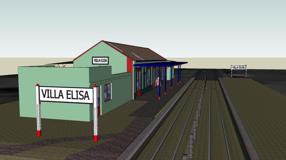 Estación Villa Elisa