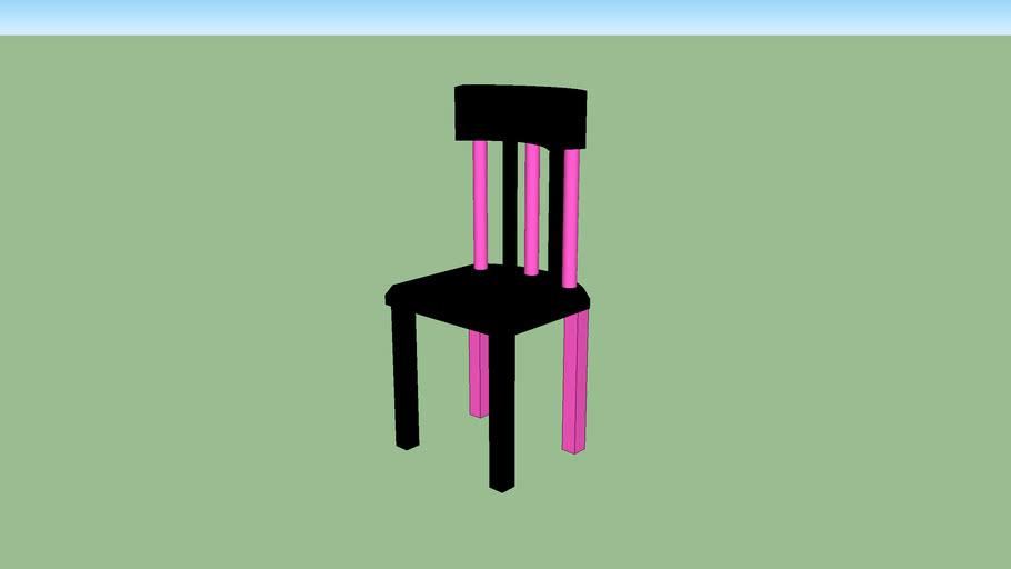Nana First Pink Chair