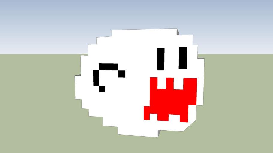 mario ( pixel Boo )