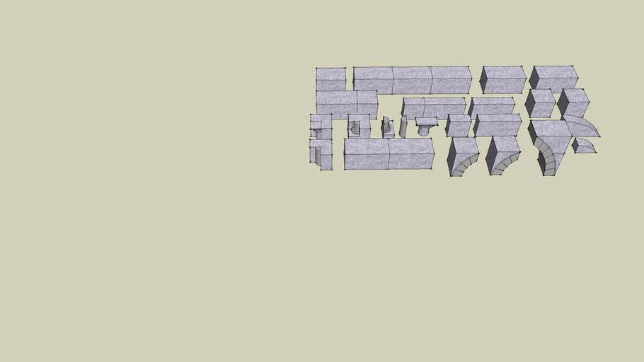 #045 Gothic Dungeon Builder