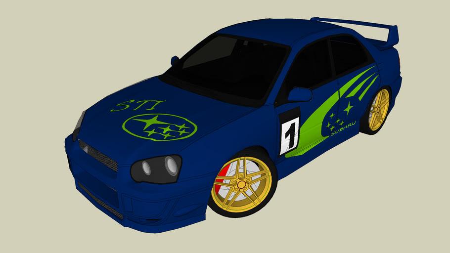 Subaru WRX STI Rally Edition