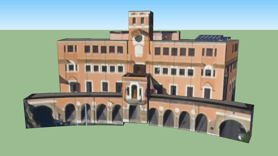 IV Municipio Monte Sacro - Piazza Sempione in Roma, Italia