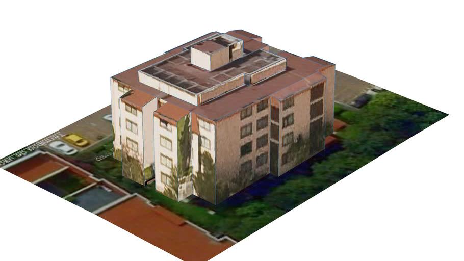 Edificio Habitacional Militar 2 en Ciudad de Mexico, D.F., Mexico