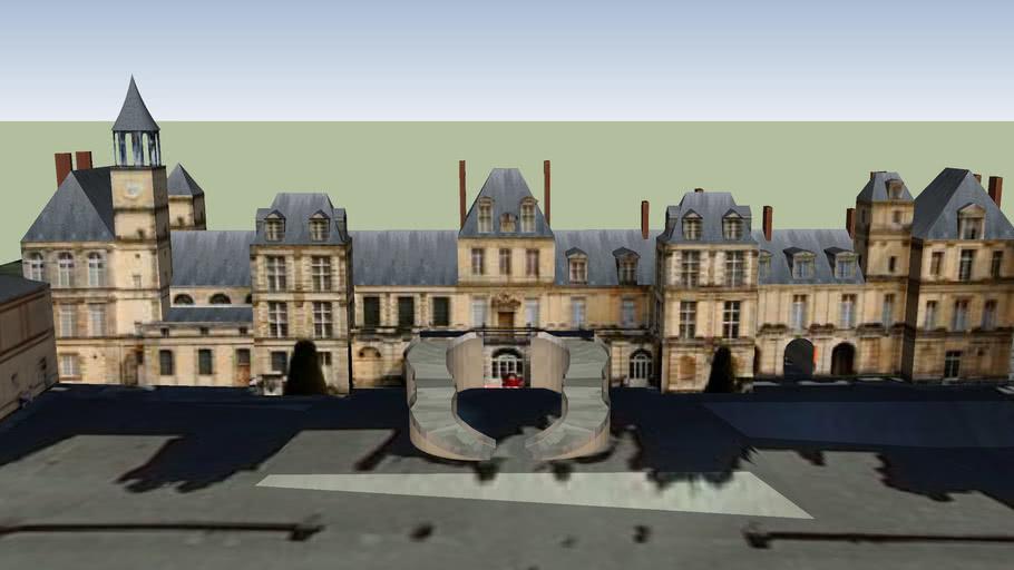 Aile de l'Escalier en Fer à Cheval, Château de Fontainebleau