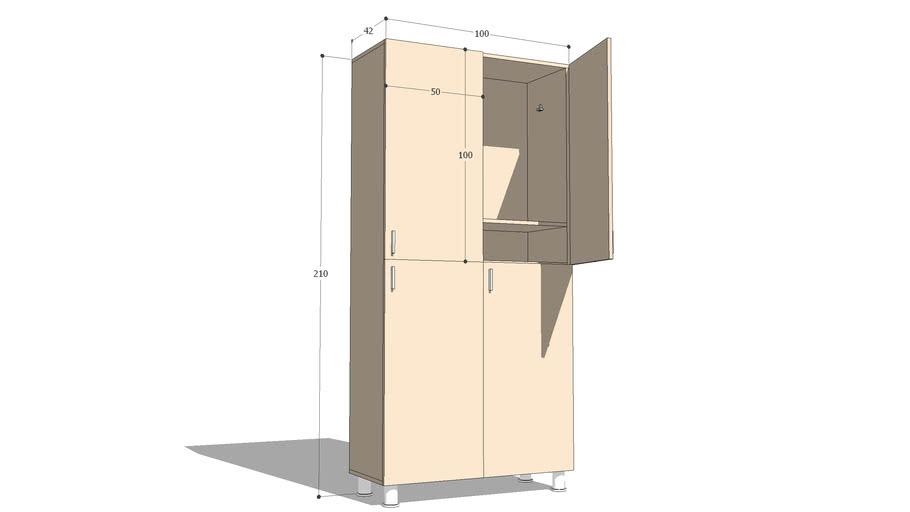 dressing cabinet