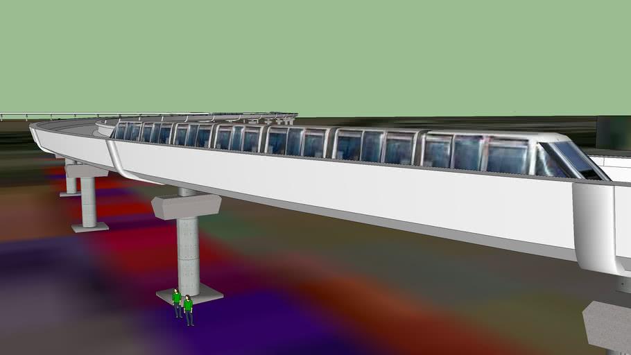 Projet du métro aérien...
