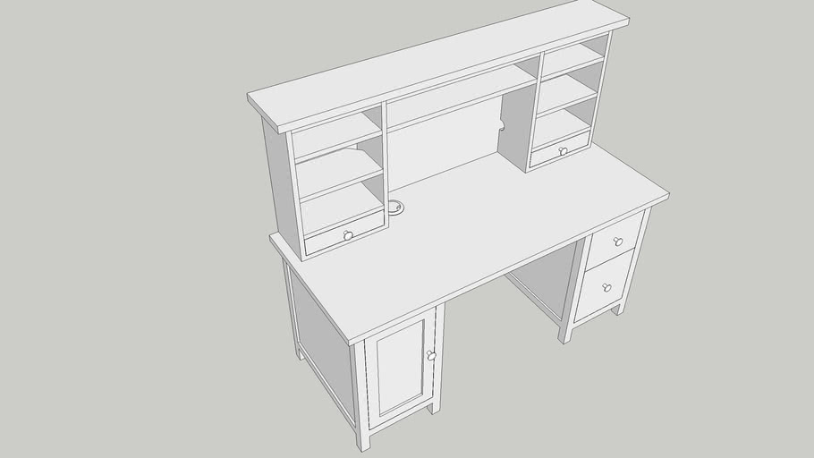 Ikea S Hemnes Desk Or Computer Table, Ikea Hemnes Secretary Desk
