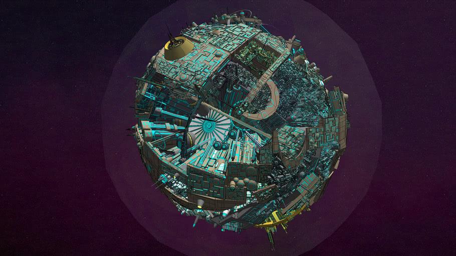 The Planet Cybertron