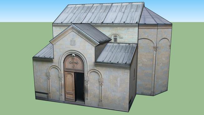 gvtishoblis tazrad mikvanebis saxelobis eklesia, church