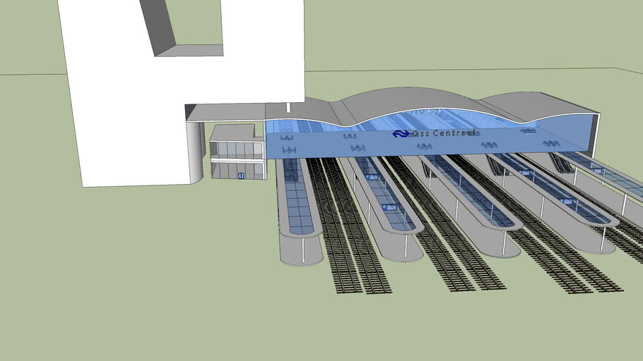 NS-Station Oss-Centraal (New possible Design)