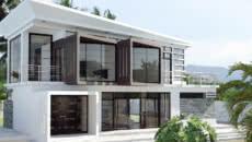 fachadas e casas
