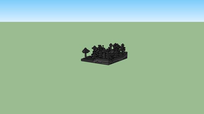 Minecraft , prosty dom
