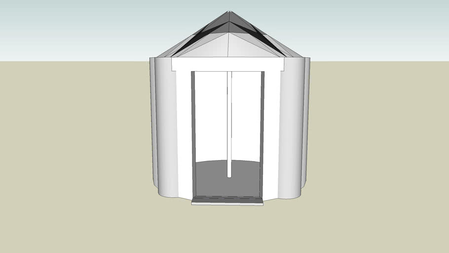 weird tent like object